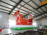 2014 Chrismas inflatable santa claus for advertisement