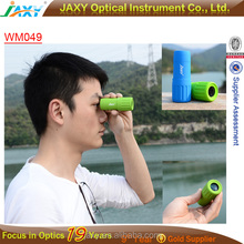 pocket golf hand free monocular 7x18 Pocket Scope Binoculars