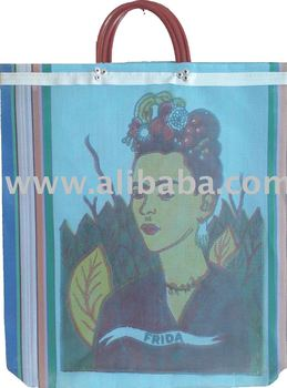 Mexican Traditional Mercado Shopping Bags