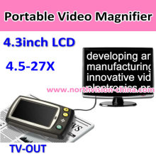 Portable Video Digital Magnifier for Low Vision Aids