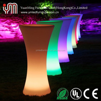 Led Bar Table/ Led Cocktail Table/ Plastic Bar Table