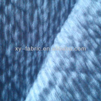 2013 hot sales 100% polyester micro soft velboa bond fleece for sofa
