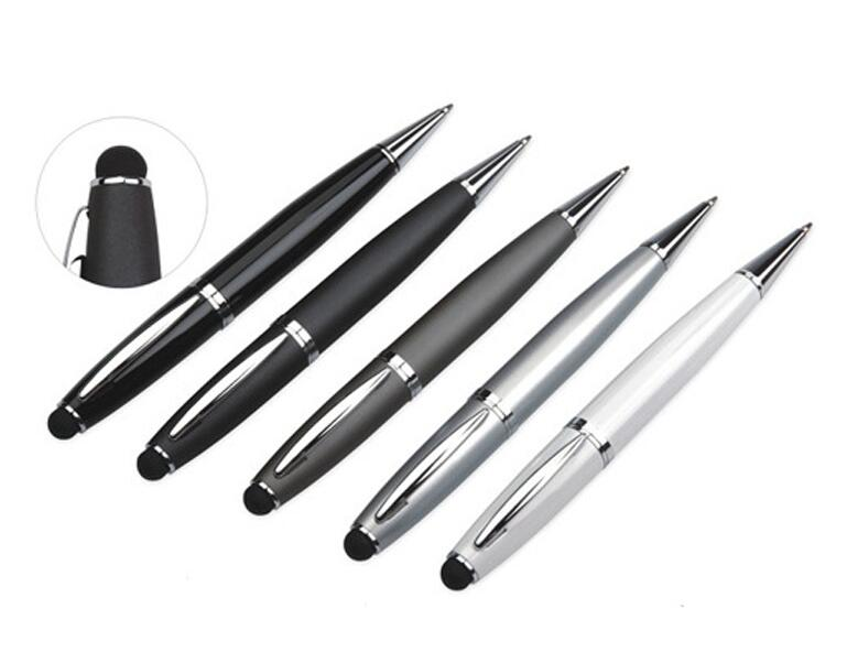Wholesale China High Quality Cheap USB Ballpoint Pen With Logo Custom And LED Light
