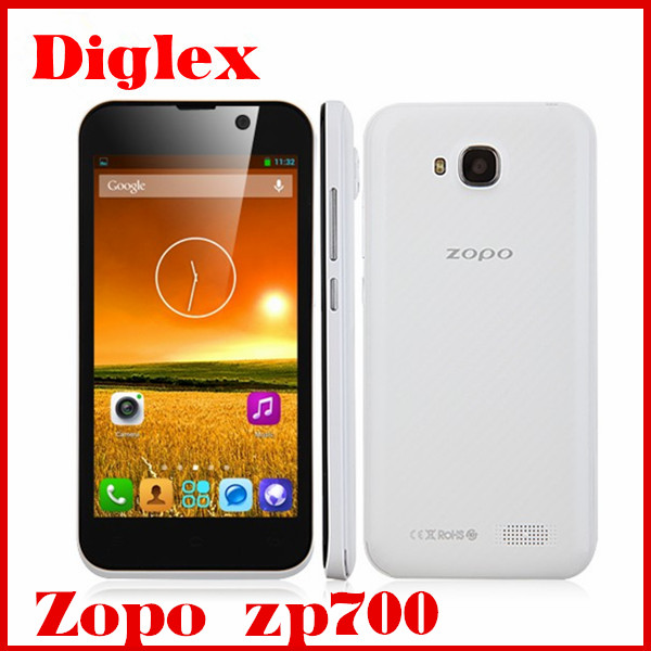 Newest zopo zp700 smartphone 4.7inch mtk6582 quad core with wholesale price