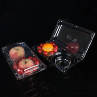 New style blister packaging disposable for fruit fresh tomato 2pc
