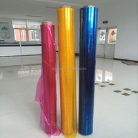 2016 Flexible PVC Colored Plastic Sheet For Packing
