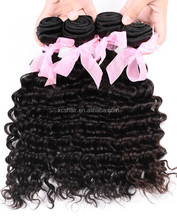 high quality top grade 100 unprocessed human virgin hair supply wholesale