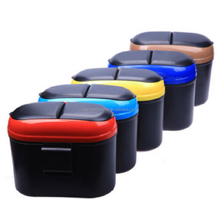 Promotional Plastic Mini Car Garbage Can,Trash Can