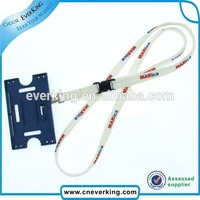 china market free sample wholesale lanyard for id card holder