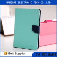 Mercury tablet leather case flip cover wallet case for samsung Galaxy Samsung Galaxy Tab 4 8.0/T330/T331/T3 flip case many color