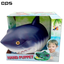 best selling in USA plastic animal shark hand puppet for wholesale