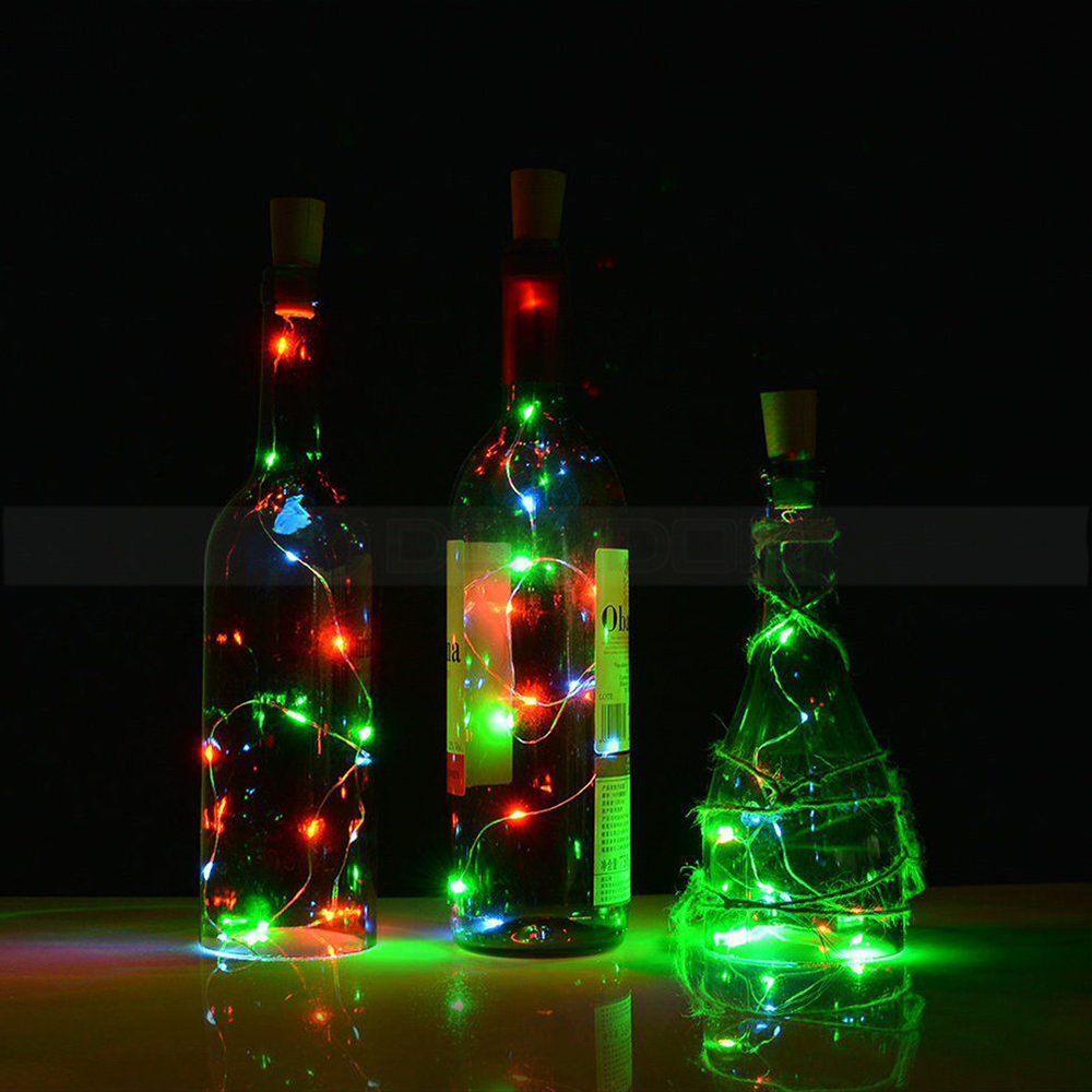 Holiday Lights 2M Cork Shaped LED Strip for Party Chirstmas