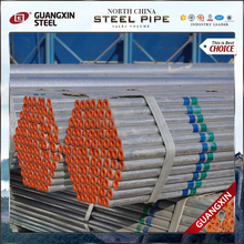 standard size galvanized steel iron pipe water pipe hot dipped galvanized erw pipe