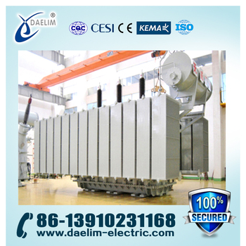 220kv 90mva 3-Phase Oil Immersed Power Transformer with OLTC