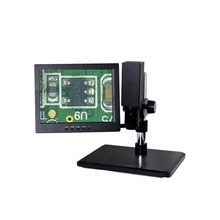 "ZhongXun ZX-YY85 High Quality LCD Digital Microscope with 12"" HD Monitor, Video Microscope"