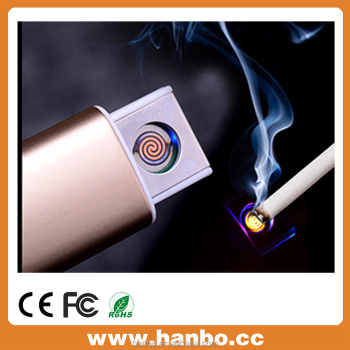 usb electronic lighter with custom logo