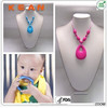 BPA free Hot Sale silicone pendant teether/silicone pendant teething wholesale