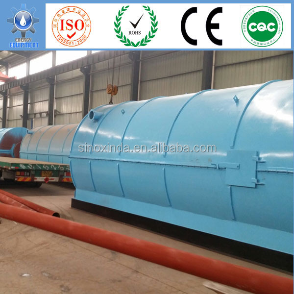 Xindae Waste tyre to diesel Fuel for industries heating use equipment