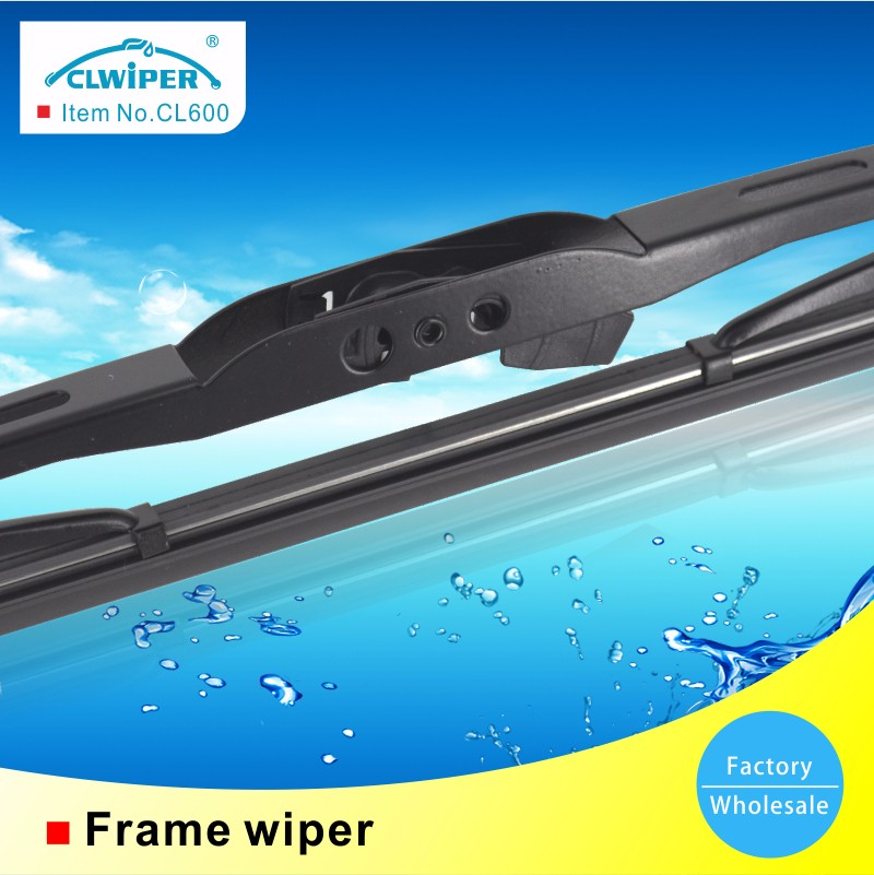 Auto parts windshield metal frame wiper blade for car window
