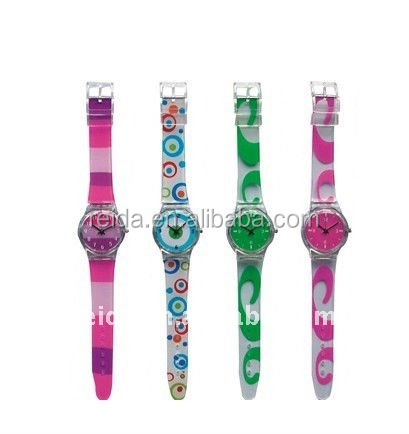promotion plastic wrist watch children watch