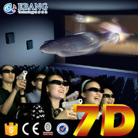 amusive game play in cinema horror movie for 9d cinema