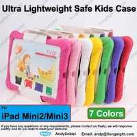 Child Kid Shockproof Thick Foam EVA Cover Case Handle Stand For iPad Mini 1/Mini 2/Mini 3,Baby non-toxic EVA foam cases cover