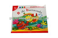 Child English story book in hardcover printing