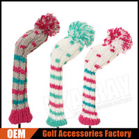 2015 Winter Golf Product - New Design Wool Knitted Golf Club Head Covers