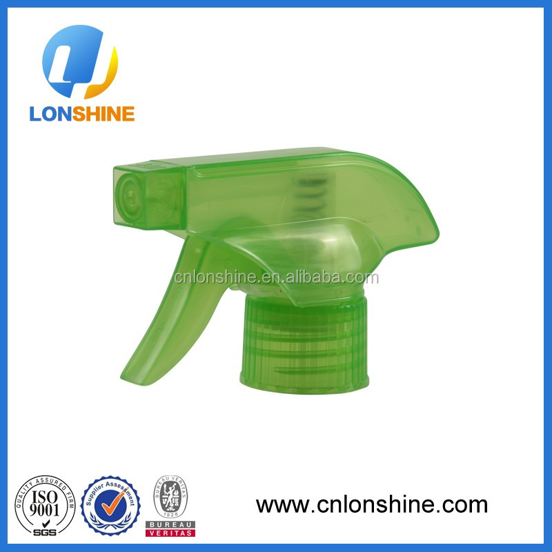 China 28/400 28/410 28/415 plastic PP mist spray trigger sprayer lotion pump any size any style match any bottle
