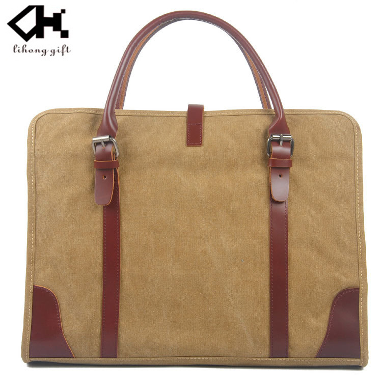 wholesale waxed strong canvas tote bag for buy