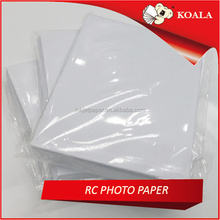 High glossy inkjet photo paper 180g A4*20 sheets factory supplier