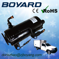Ice cream maker parts R404a r134a truck refrigeration compressor 1hp r22 for commecial refrigeration