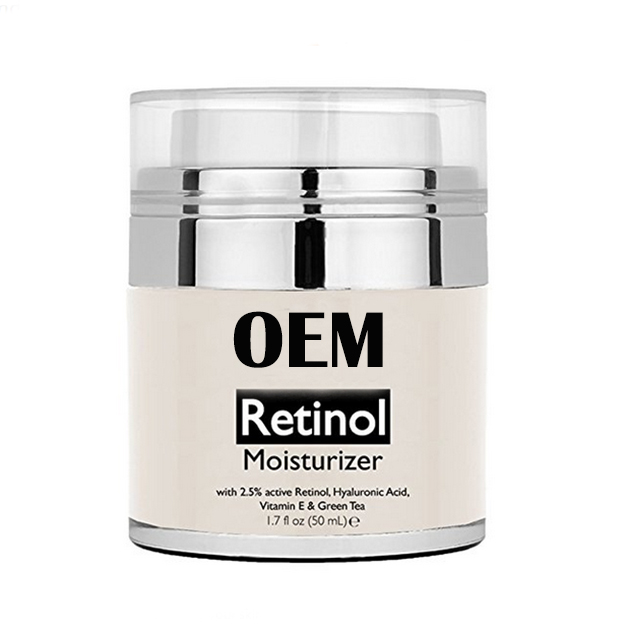 Private Label Retinol Face Cream Hot Sale Good Quality Retinol Moisturizer