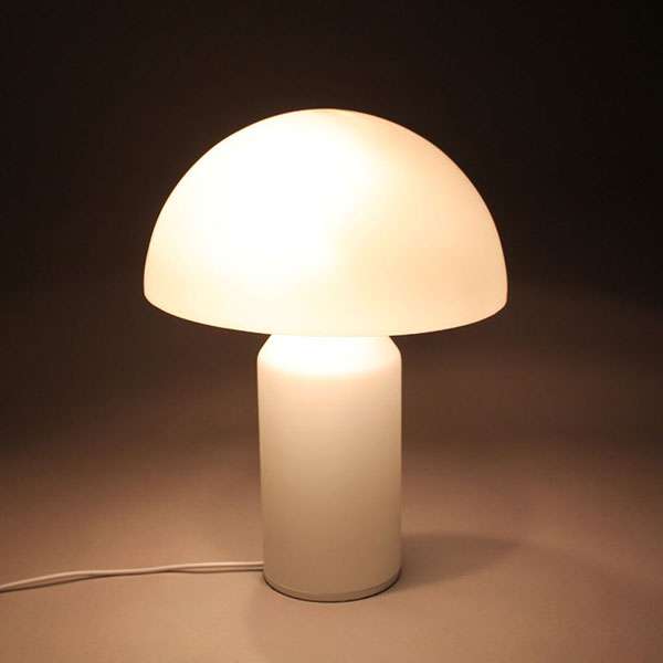 LP255 Wholesale white glass Oluce Atollo Table Lamp