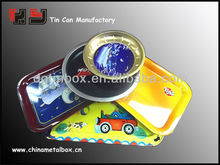metal tin food serving tray