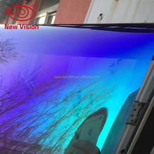 IR 90% cool shining color removable Chameleon window film tinting
