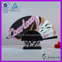Promotional Plastic Hand Fan With Customized