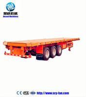 3 Axle Cantilever Suspension Flat Bed