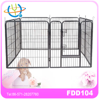 strong metal pet playpen for dogs