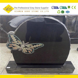 wholesale butterfly tombstone ,beautiful headstone with butterfly