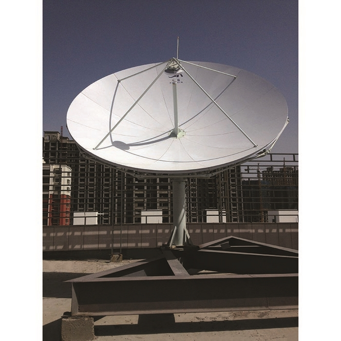 Low-Price 4.5m Parabolic RxTx Earth Station VSAT Satellite Dish Antenna