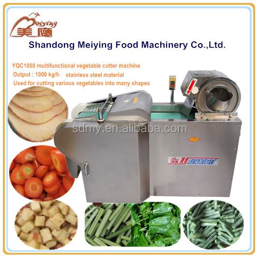 YQC professional automatic automatic potato chips cutter machine for cutting vegetables