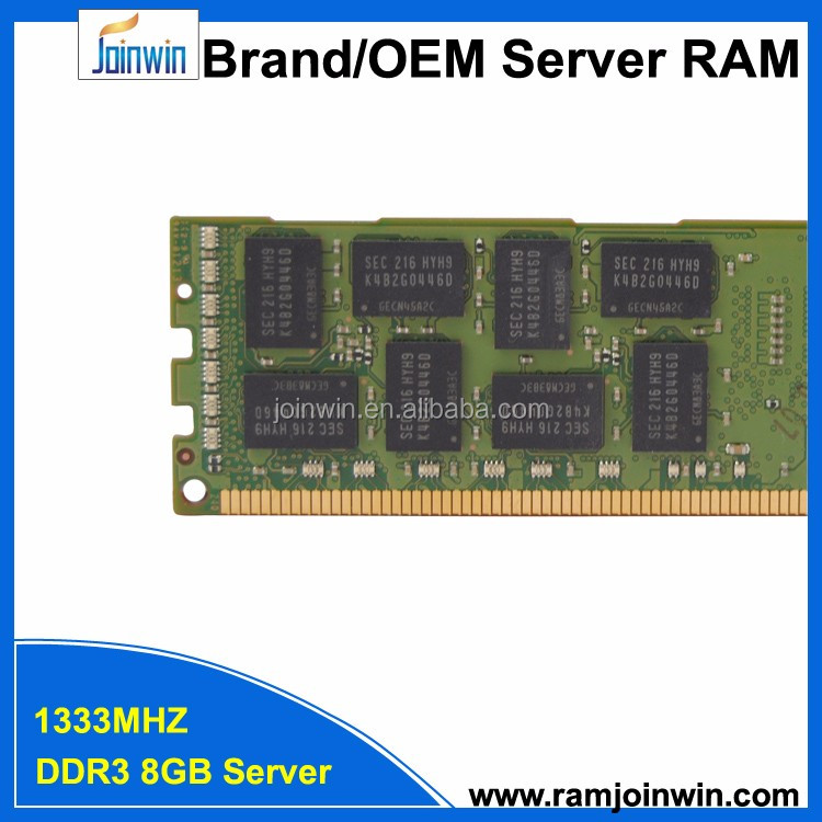 Server Application and Low voltage ETT chips PC3L-10600R 1.35v DDR3 8GB RAM