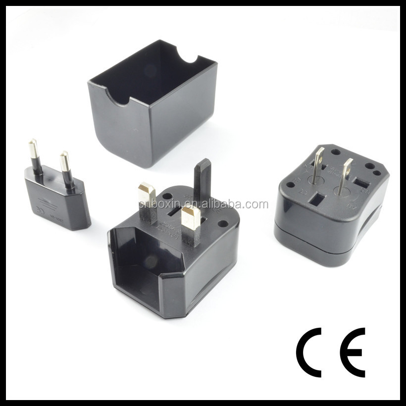 Hot New China wholesales Universal plug adapter Interchangeable plug power adapter,universal international travel power plug