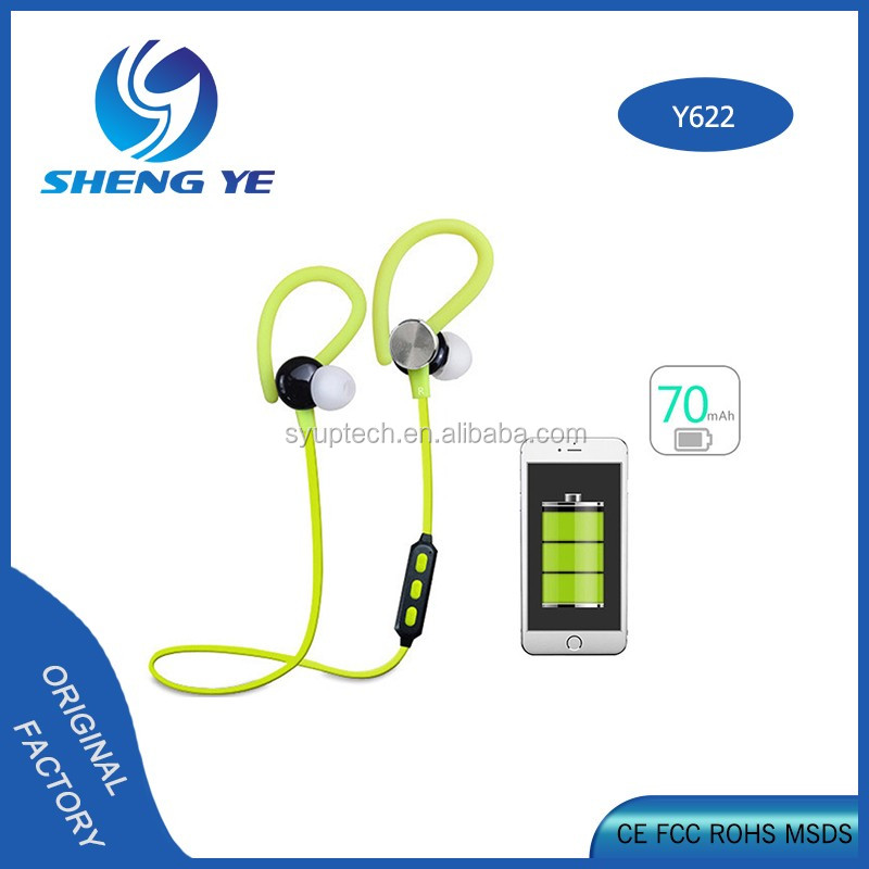 2017 new design in-ear earphone,mp3 ear phones, computer and Bluetooth 4.1 Supply Y622 earphone
