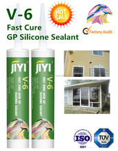 Construction Usage silicone sealant V6 for alumilum window and door