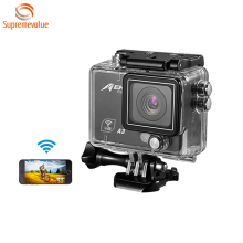 A3 Motorcycle Cheap Extreme Waterproof sports Action camera 1080p With Wifi and 2.0 Inch High Defination Screen