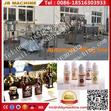 JB-Y2 Automatic thick high density e cigarette oil liquid bottle filling machine
