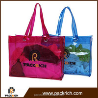 PVC Tote bag shoulder bags colorful handbag