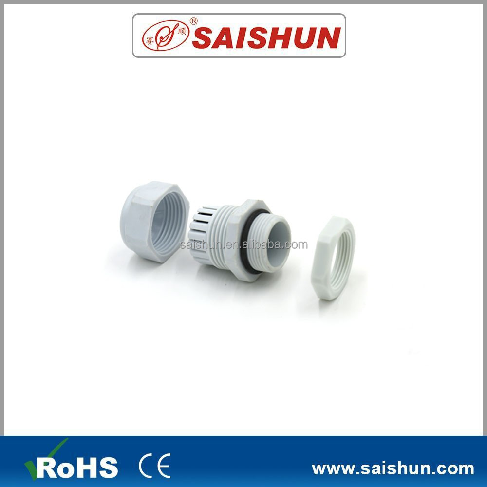Hot sales metric PG plastic cable connector